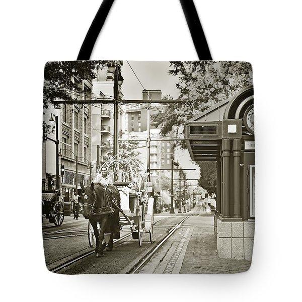 Memphis Carriage Tote Bag
