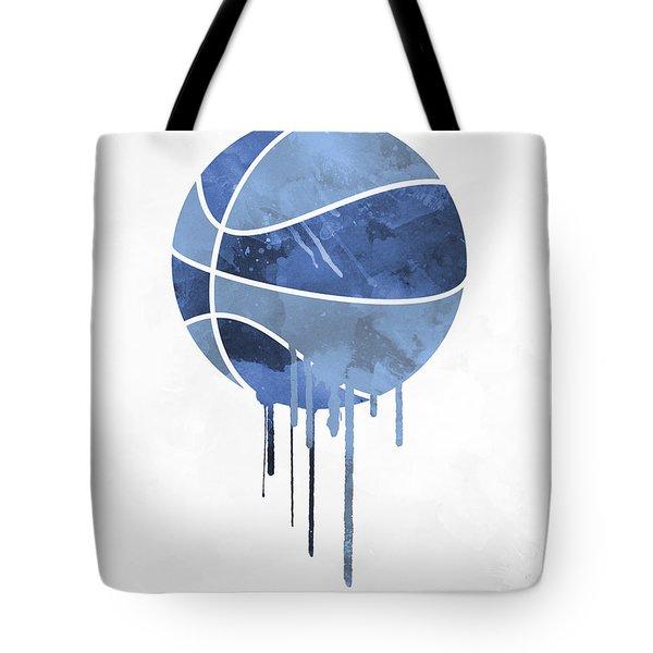 Memphis Grizzlies Dripping Water Colors Pixel Art Tote Bag
