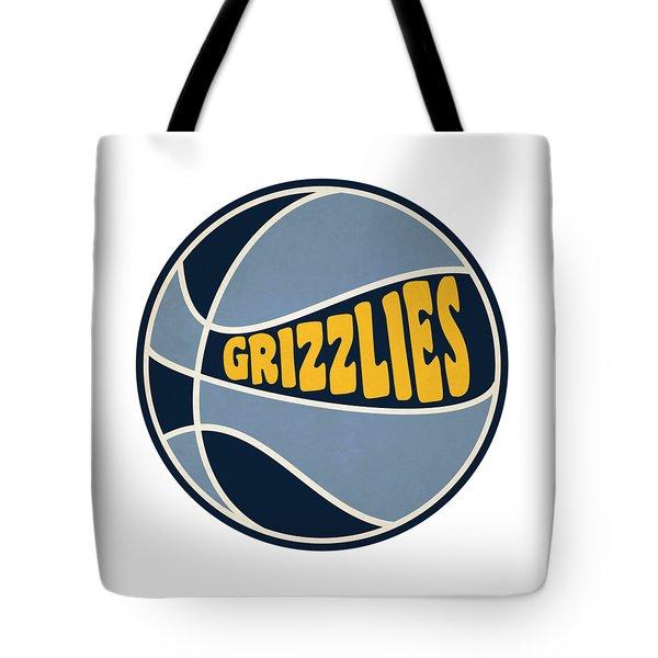 Memphis Grizzlies Retro Shirt Tote Bag