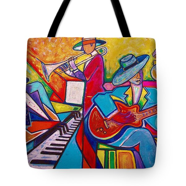Memphis Music Tote Bag by Emery Franklin
