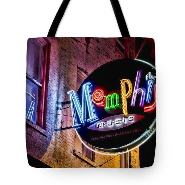 Memphis Music Tote Bag