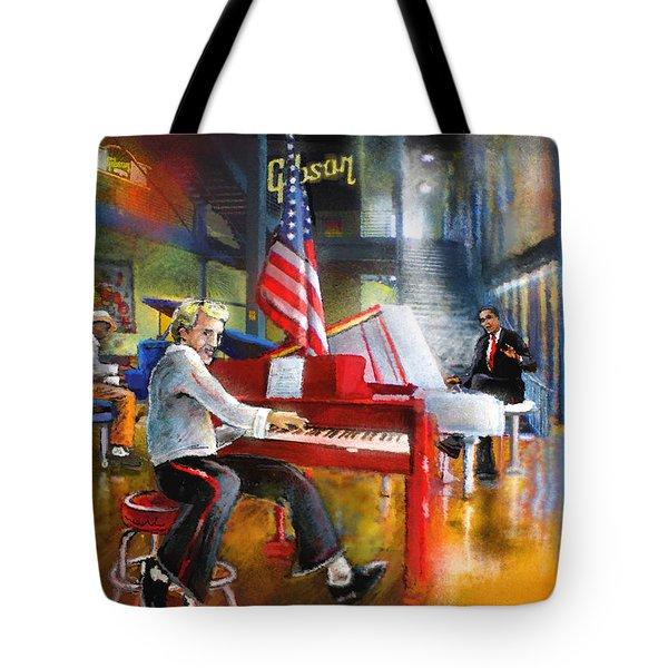 Memphis Nights 04 Tote Bag by Miki De Goodaboom
