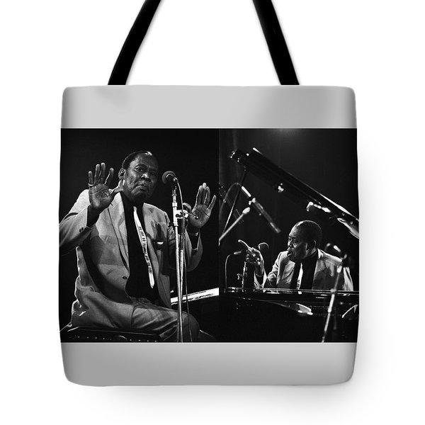 Memphis Slim Tote Bag