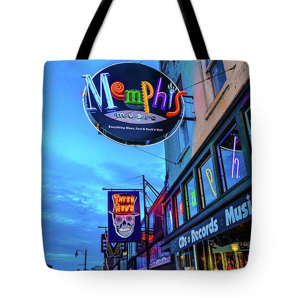 Memphis Soul Tote Bag