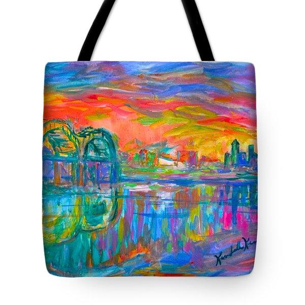 Memphis Spin Tote Bag