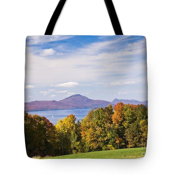 Memphremagog Autumn Tote Bag