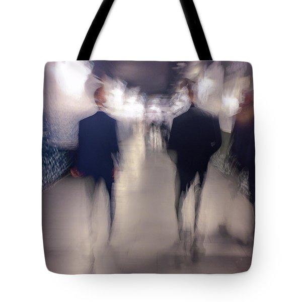 Men In Suits Tote Bag