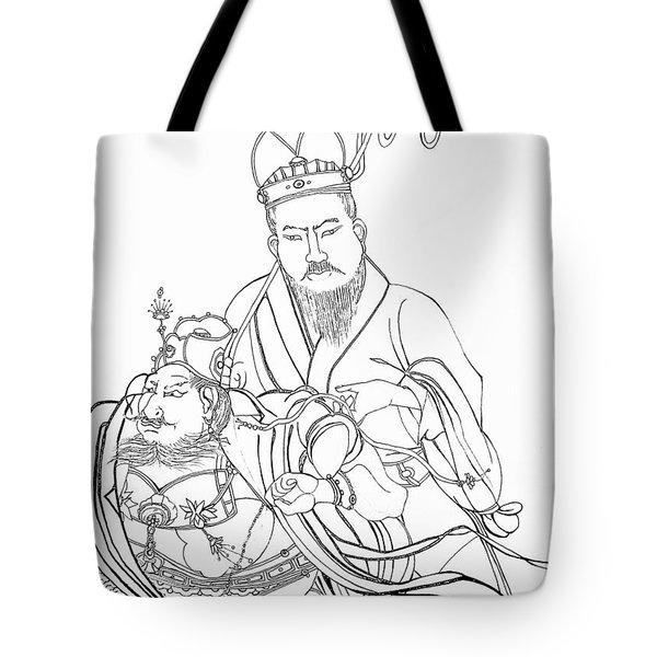 Men Of The East Tote Bag