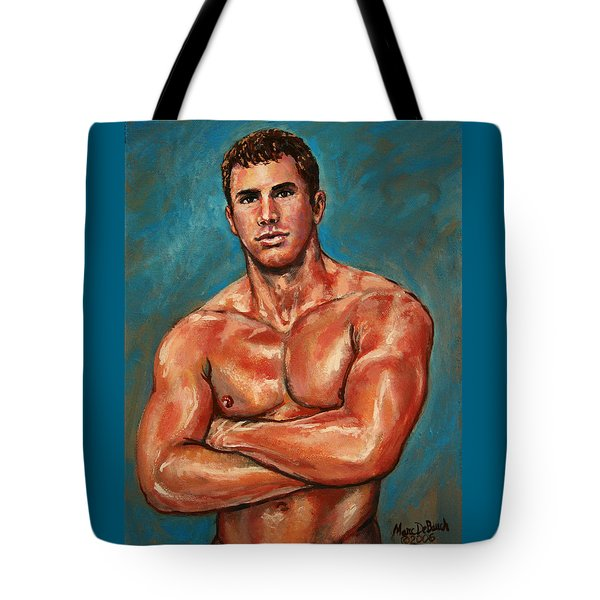 Man Sweat Tote Bag