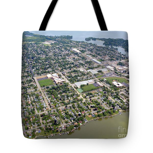 Tote Bag featuring the photograph Menasha To East by Bill Lang