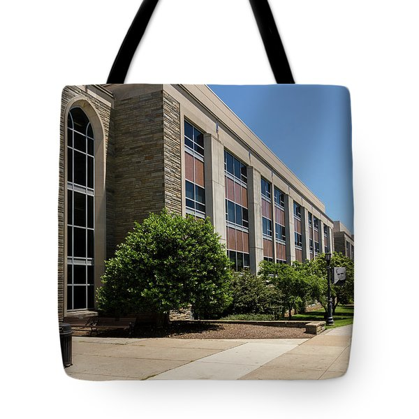 Tote Bag featuring the photograph Mendel Hall by William Norton