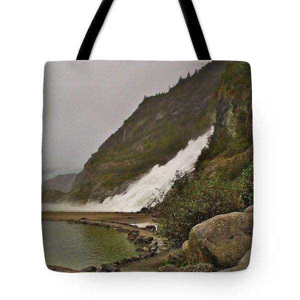 Mendenhall Glacier Park Tote Bag