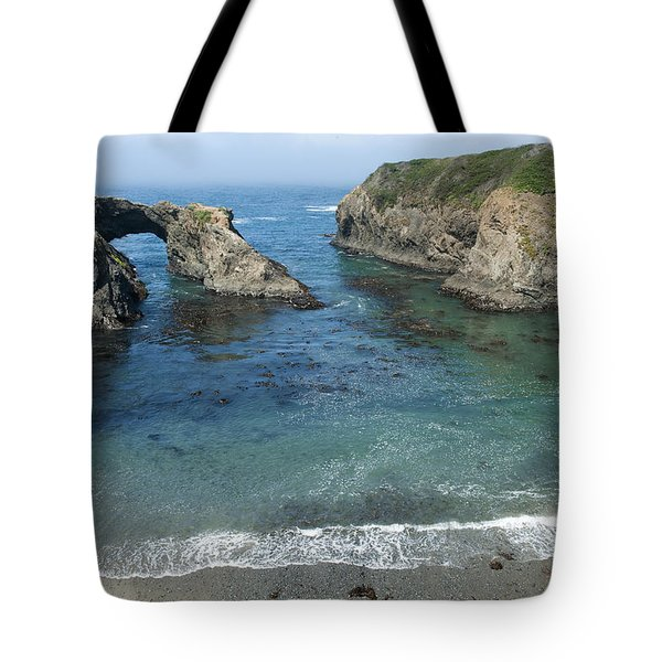 Mendicino County Viewpoint Tote Bag by Sandra Bronstein