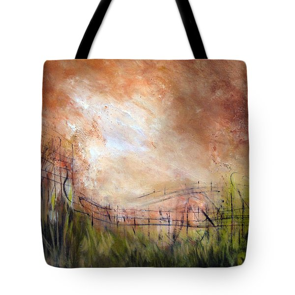 Mending Fences Tote Bag