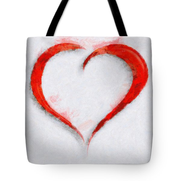 Tote Bag featuring the painting Mending Thoughts by Sir Josef - Social Critic - ART