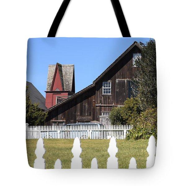 Mendocino Barn Tote Bag