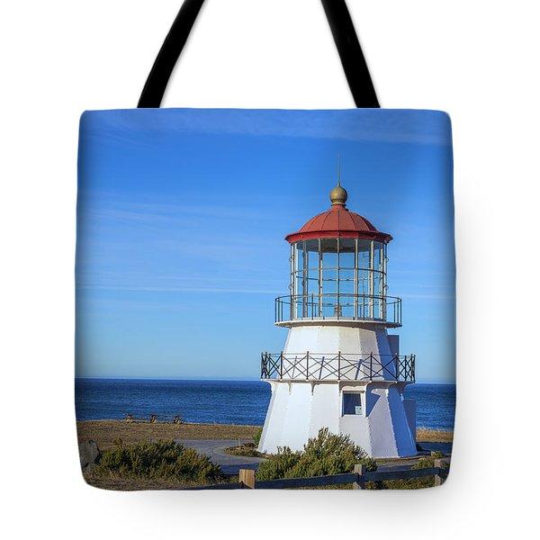Mendocino Ligthhouse Tote Bag
