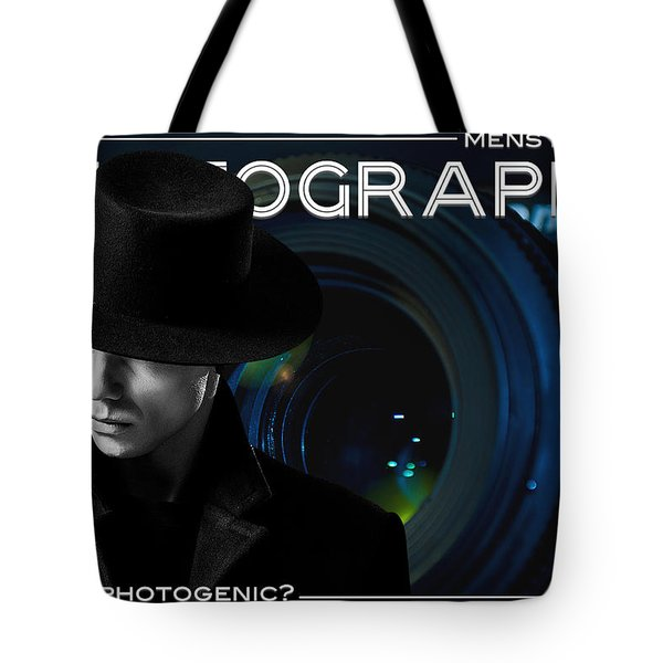Mens Fashion Photography Are You Photogenic Tote Bag