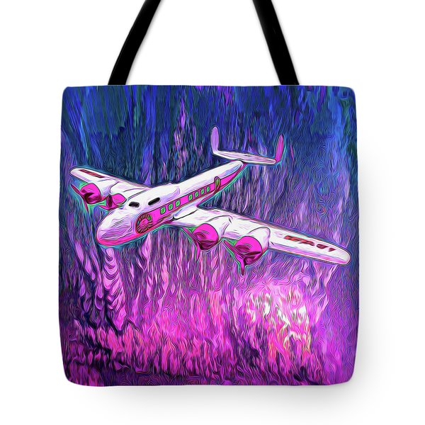 Mental Get A Way Tote Bag by Michael Cleere