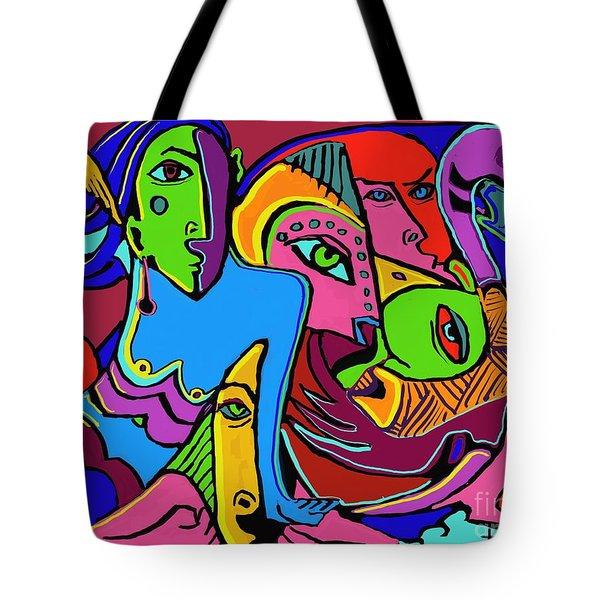 Mer Woman Tote Bag