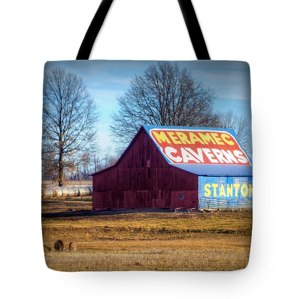 Meramec Caverns Barn Tote Bag