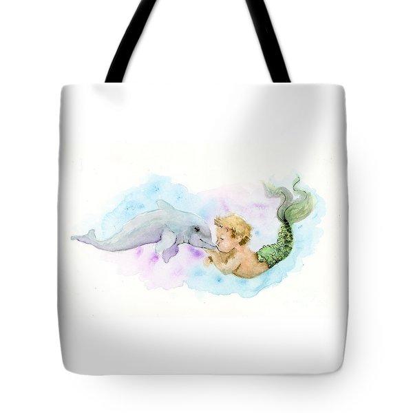 Merboy Kiss Tote Bag