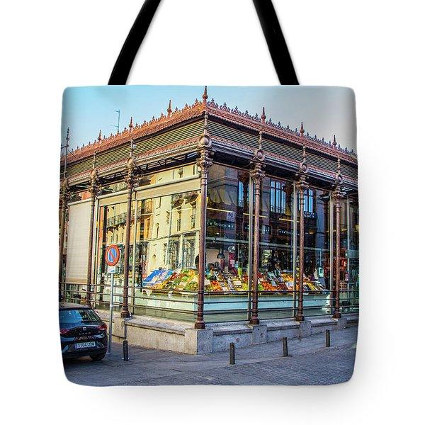 Mercado San Miguel, Madrid Tote Bag