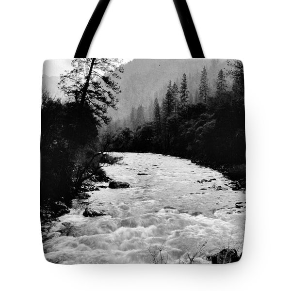 Merced River Canyon Tote Bag