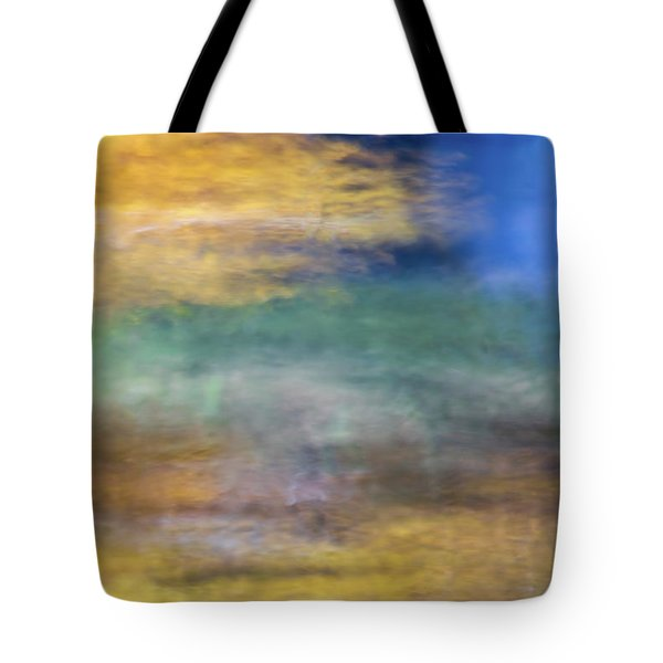 Merced River Reflections 12 Tote Bag