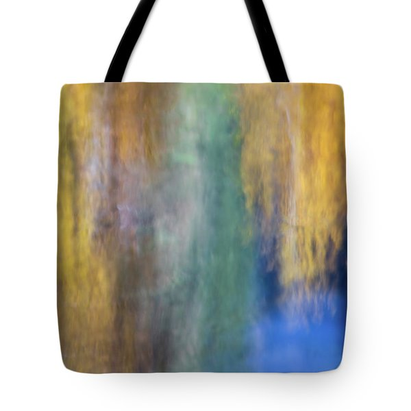 Merced River Reflections 17 Tote Bag