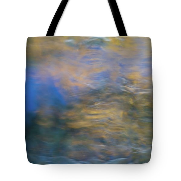 Merced River Reflections 18 Tote Bag