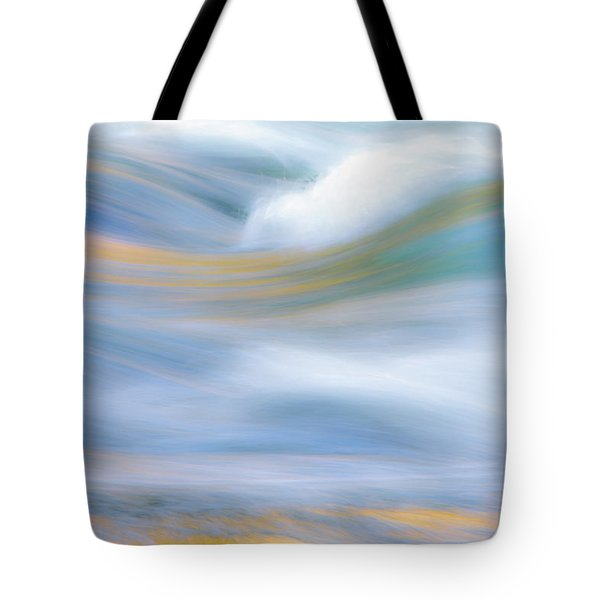 Merced River Reflections 19 Tote Bag