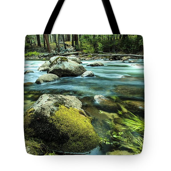 Merced River Yosemite 2 Tote Bag