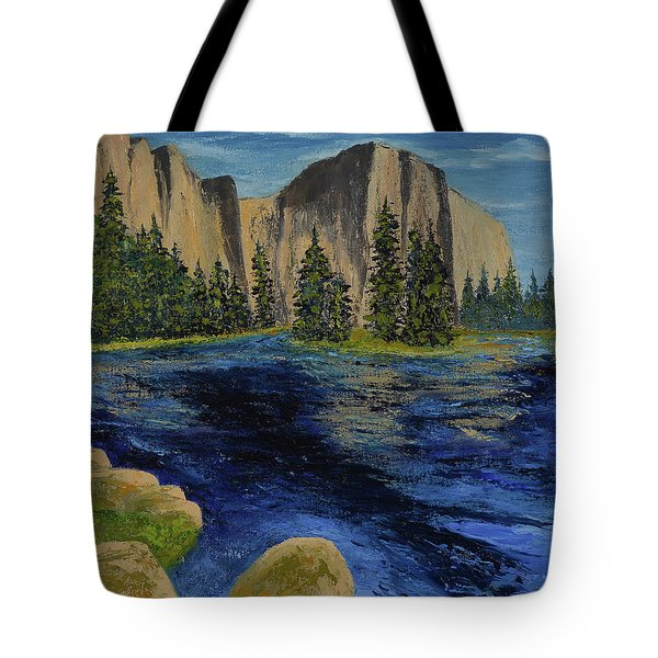 Merced River, Yosemite Park Tote Bag