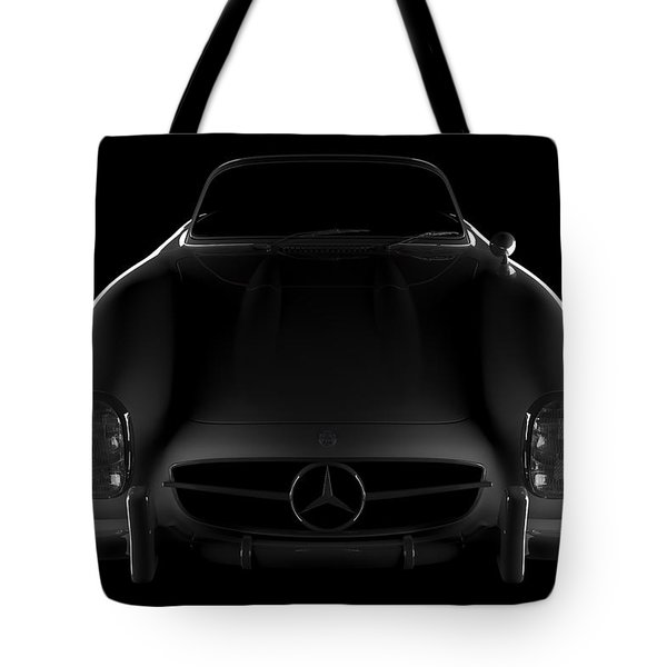 Mercedes 300 Sl Roadster - Front View Tote Bag