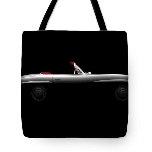 Mercedes 300 Sl Roadster - Side View Tote Bag