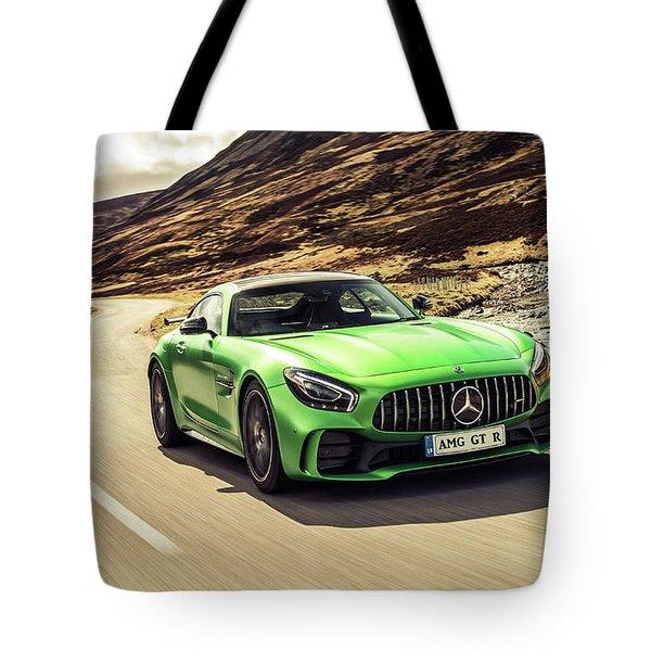 Mercedes A M G  G T  R Tote Bag