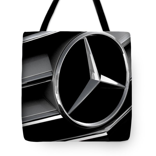 Mercedes Badge Tote Bag