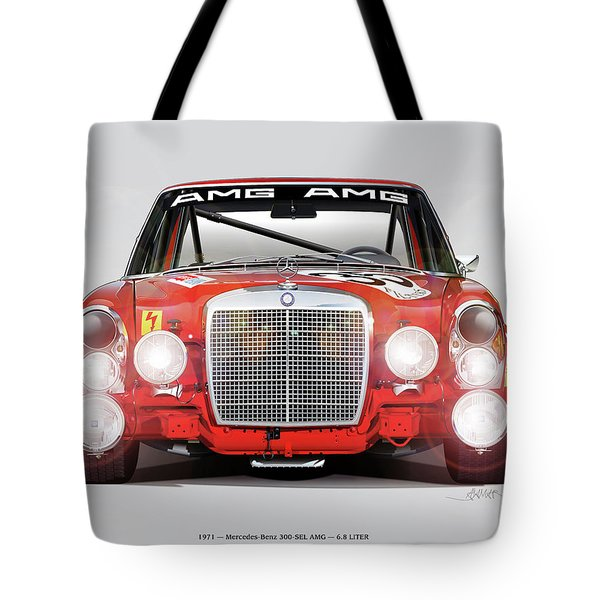 Mercedes-benz 300sel 6.3 Amg Tote Bag
