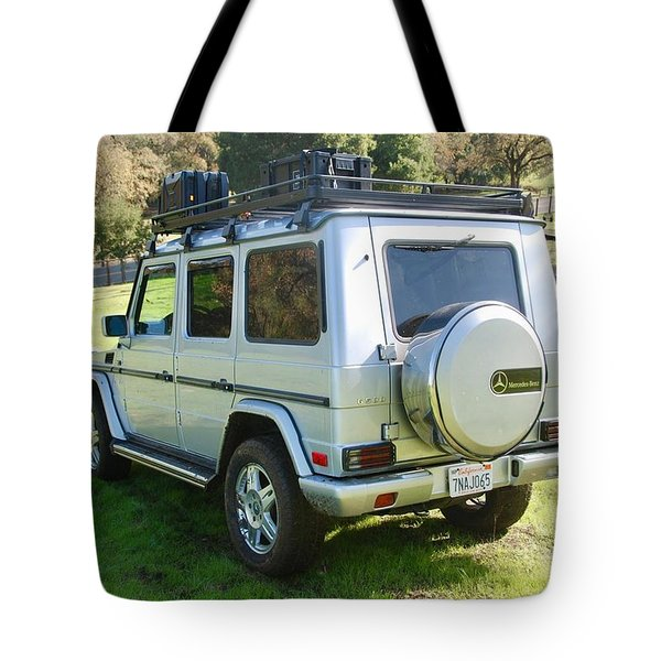 Mercedes-benz G500 Tote Bag