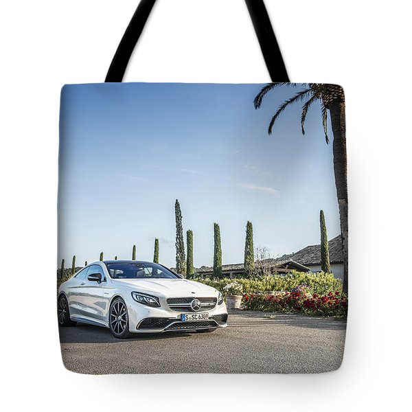 Mercedes Benz S63 Coupe Tote Bag