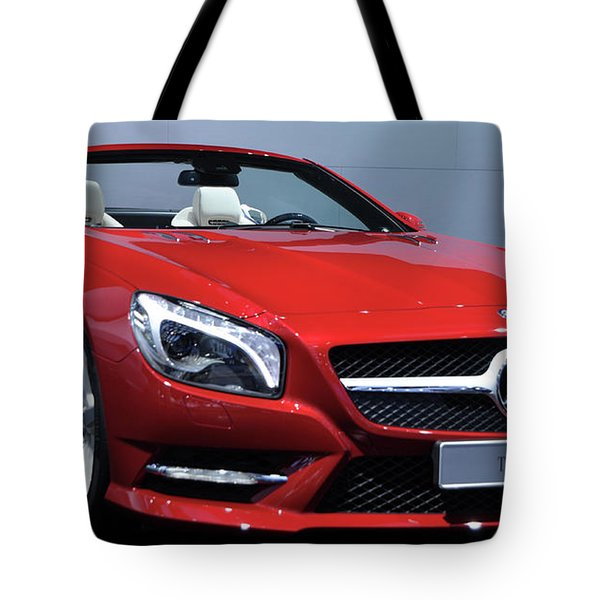 Mercedes Benz Sl Tote Bag