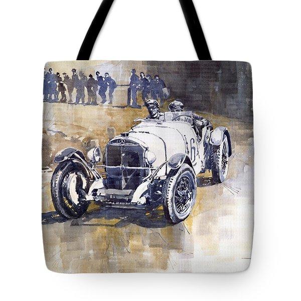 Mercedes Benz Ssk 1930 Rudolf Caracciola Tote Bag