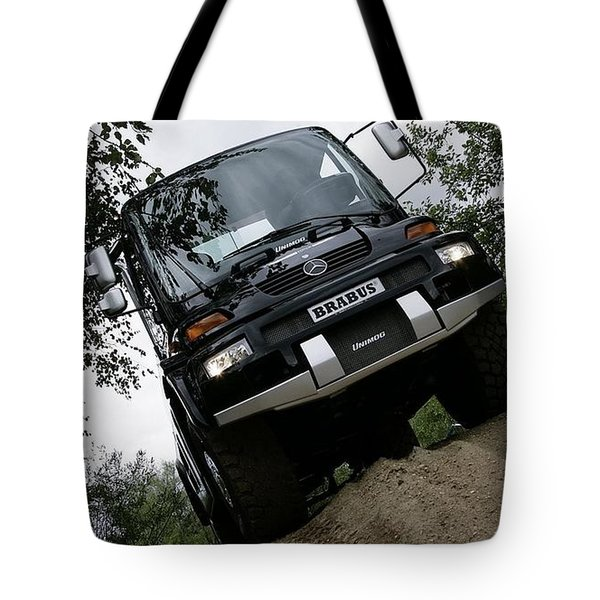 Mercedes-benz Unimog Tote Bag