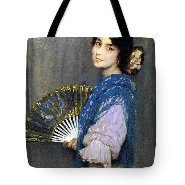 Mercedes Tote Bag by Francis Luis Mora