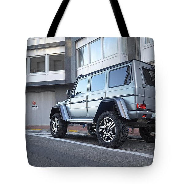 Mercedes G500 4x4 Tote Bag