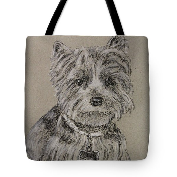 Mercedes The Shih Tzu Tote Bag