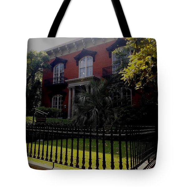 Mercer House Tote Bag