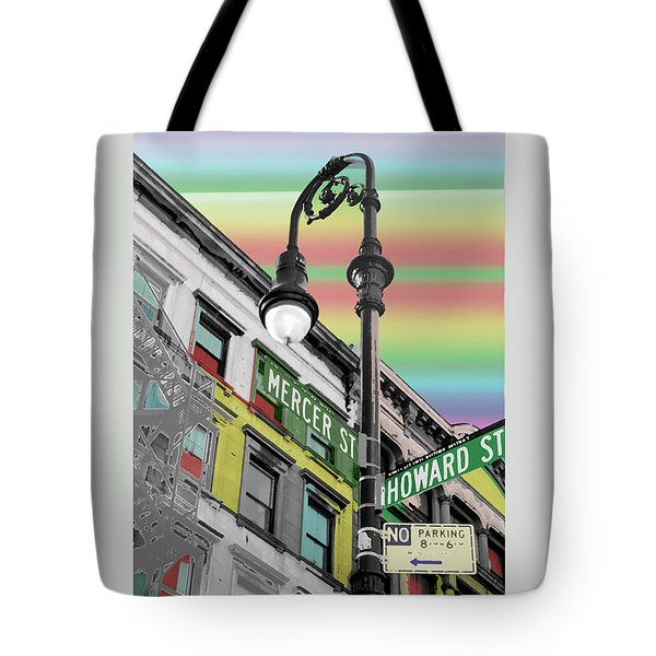 Mercer St Tote Bag by Christopher Woods