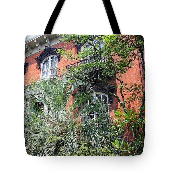 Mercer Williams House-savannah Ga Tote Bag by Suzanne Gaff
